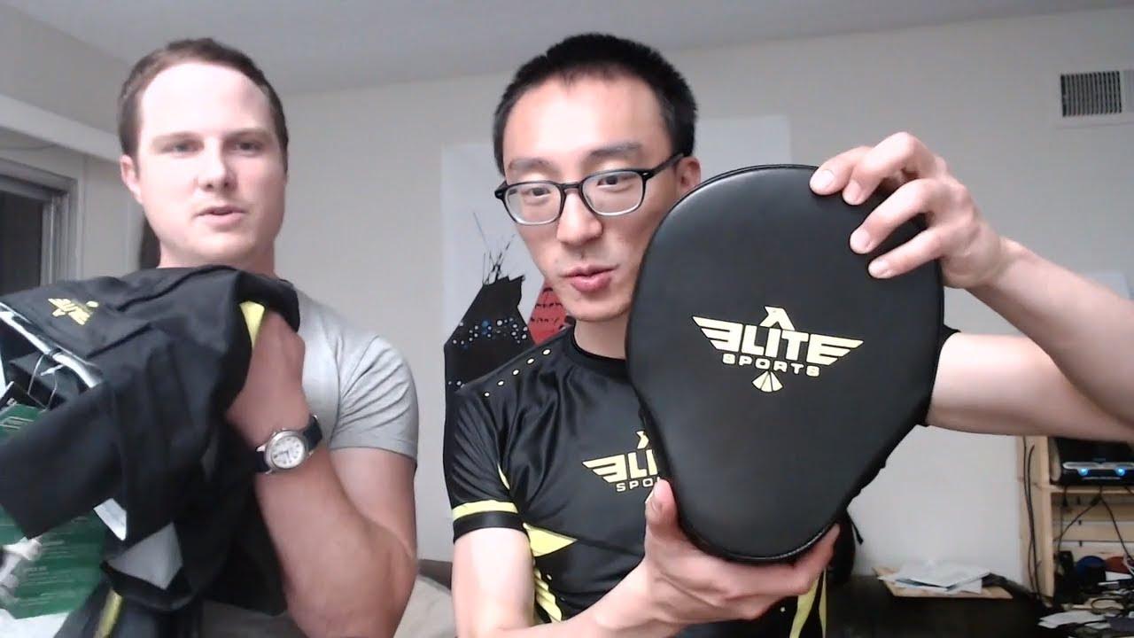 Elite Sports MMA Equipment Unboxing