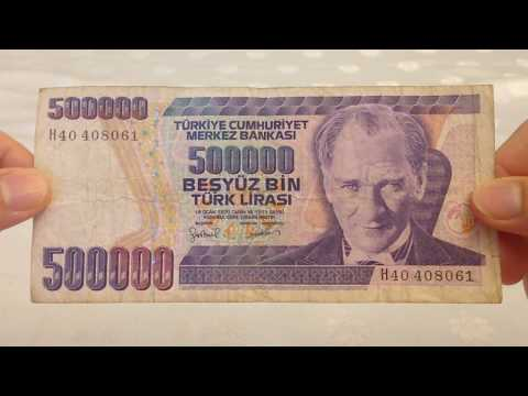 Eski Tarihli 500000 Türk Lirası