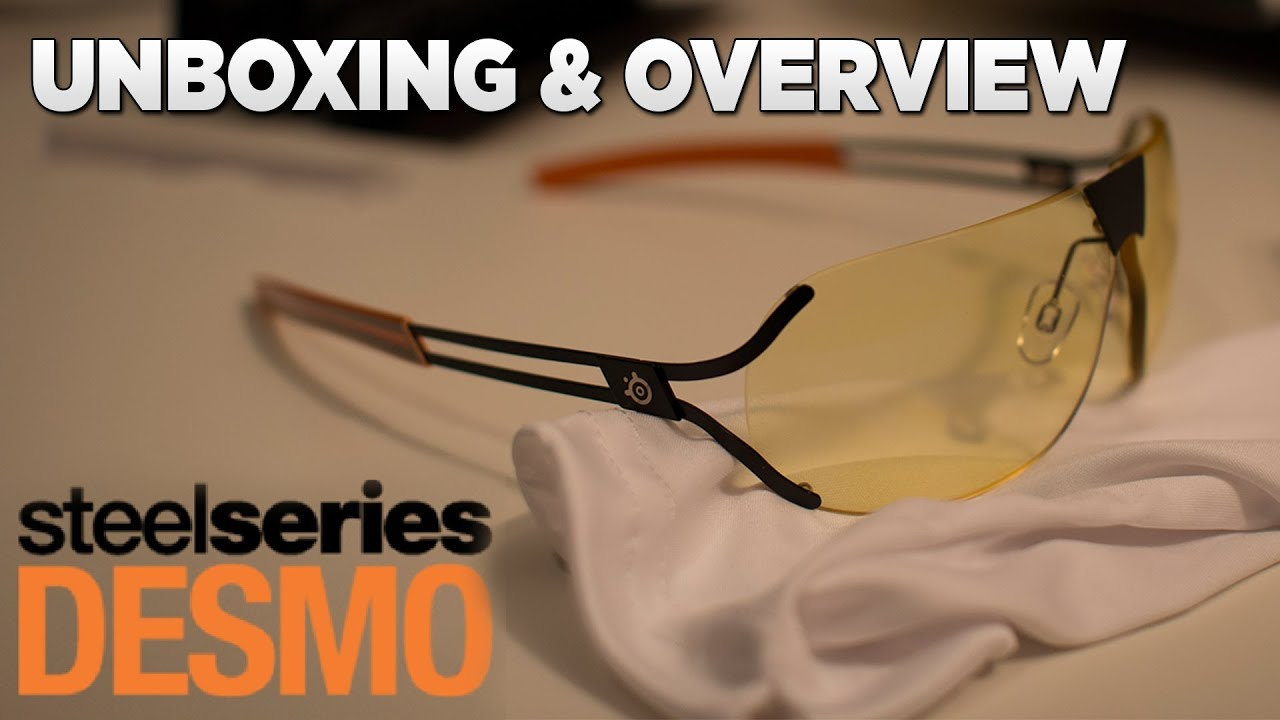 Steelseries Desmo Unboxing   Overview (Gunnar) - YouTube 77cc8f6cac
