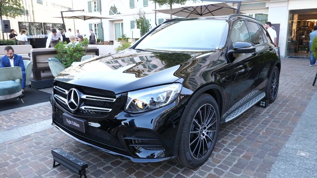 2019 Mercedes Benz Glc 350d 4matic Amg Night Edition Youtube