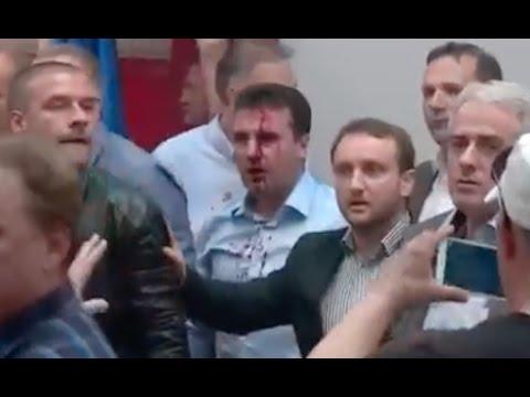 Nje video tjeter nga Kuvendi ne Shkup