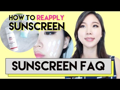 How To Reapply Sunscreen Over Makeup • Nano Sunscreen Safety • Best Sunscreen