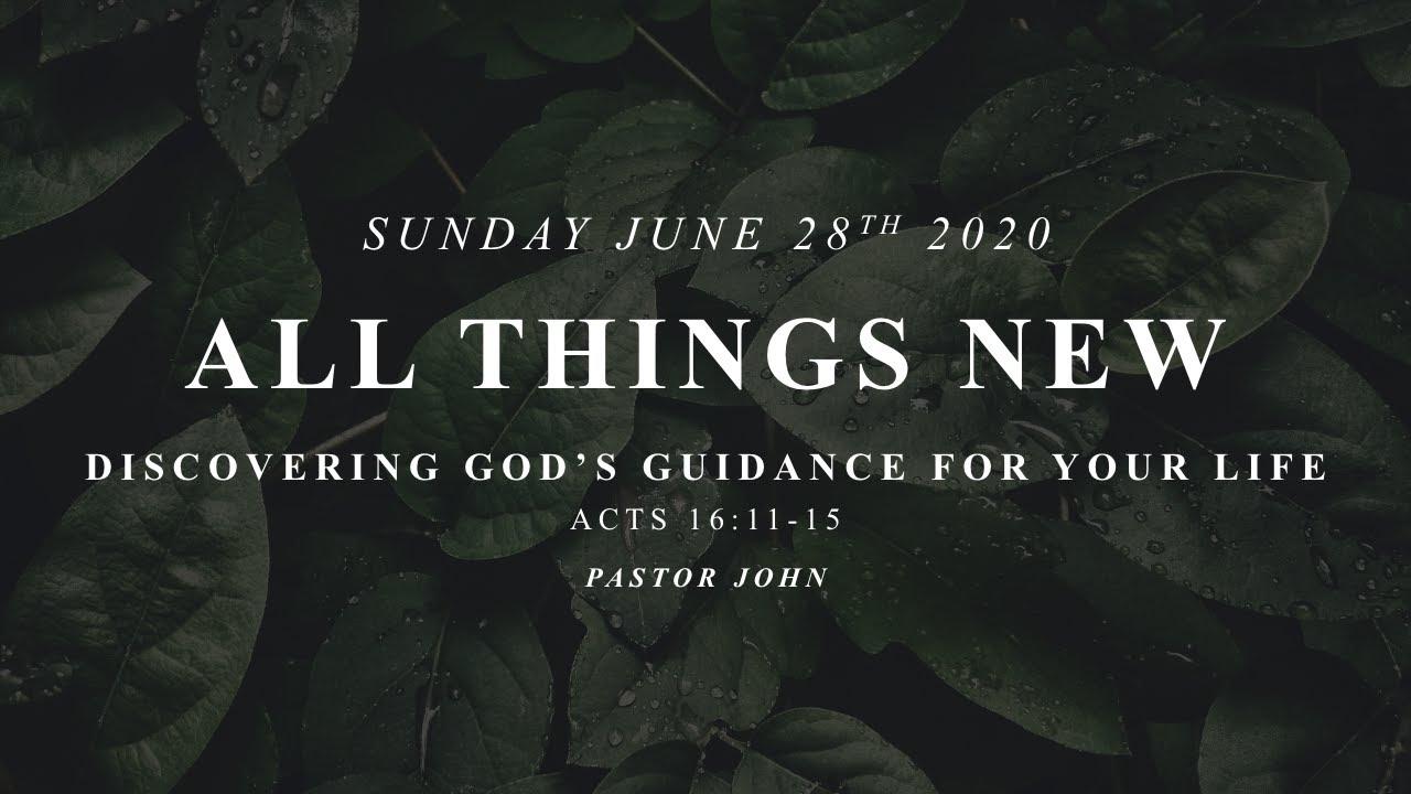 Sunday, June 28, 2020