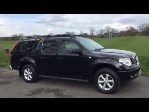 Nissan Navara 2 5 DCI Turbo Diesel Aventura Double Cab DC Pickup Canopy 4x4 4WD McCarthy Cars UK