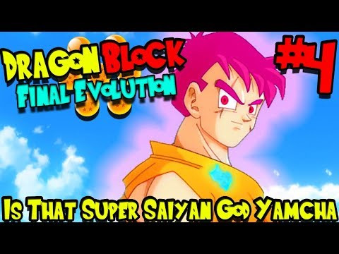 IS THAT...SUPER SAIYAN GOD YAMCHA?!?   Dragon Block Final Evolution (Minecraft Server) - Episode 4