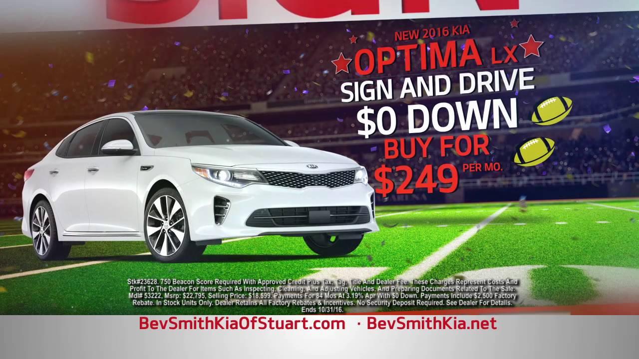 Bev Smith Kia Of Fort Pierce   Kia Optima For $249/Month U0026 Kia Sorento For  $299/Month With $0 Down