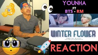 Younha Winter Flower Feat RM of BTS Winter Flower - KITO ABASHI REACTION