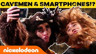 Cavemen w/ Smartphones?! 📱NEW All That Sketches | Nick