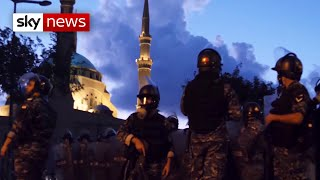 Violence grips Lebanon as government collapses