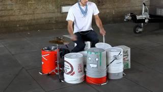 Amazing Street Drummer