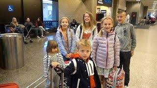 SIX Kids Navigate the Airport by THEMSELVES!! thumbnail