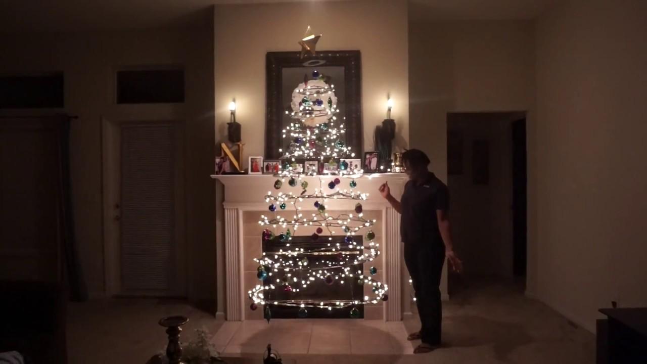 D.I.Y. Floating Cardboard Christmas Tree   YouTube