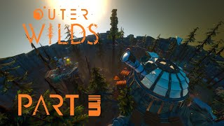 Outer Wilds Let's Play Gameplay Walkthrough - part 3 - Exploring Timber Hearth - [PC] ENG Commentary