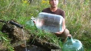 Collecting Natural Spring Water - FAQ & Best Practices ( David Wolfe Daniel Vitalis )