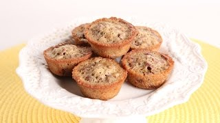 Pecan Pie Mini Muffins Recipe - Laura Vitale - Laura in the Kitchen Episode 981