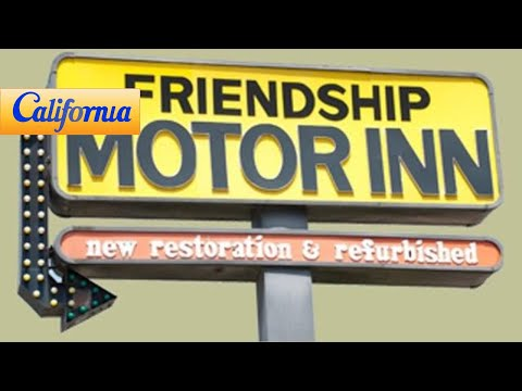 Friendship Motor Inn, Los Angeles Hotels - California