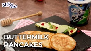 Fluffiest Pancake Recipe | Buttermilk Pancakes Recipe