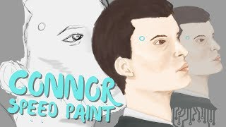 Detroit Become Human Connor Speed Paint