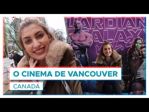 O cinema de VANCOUVER é muito legal!   Canadá   VLOG Carol Moreira