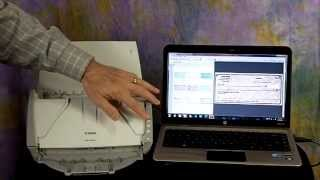 Canon DR-2510C Scanner Demo