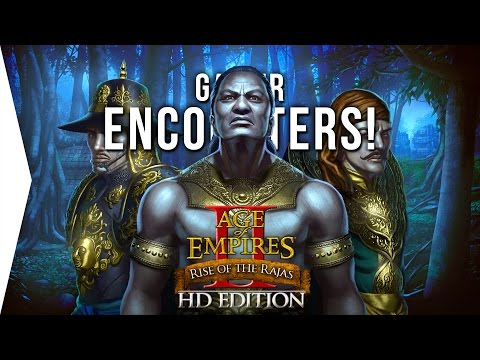 AoE II: Rise of the Rajas ► 1 Hour of Campaign Gameplay - [Gamer Encounters!]