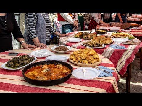 AMERICANS Tasting Traditional ALBANIAN Food {Krujë}
