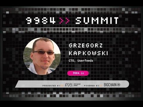 Grzegorz Kapkowski, Userfeeds - A New Perspective on the World's Information