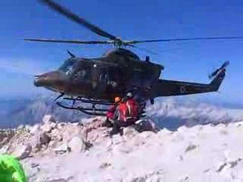 NSSA Helicopter pickup movie crew