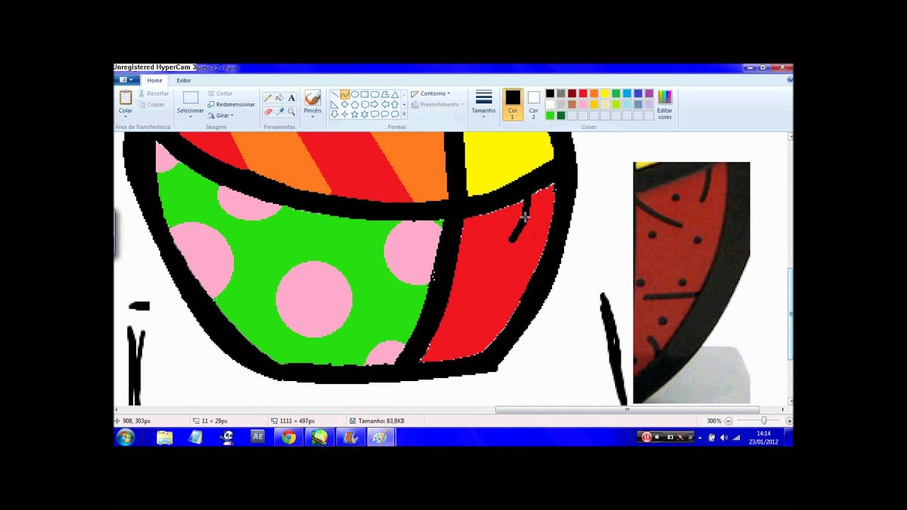Desenhando Obra De Romero Britto Youtube