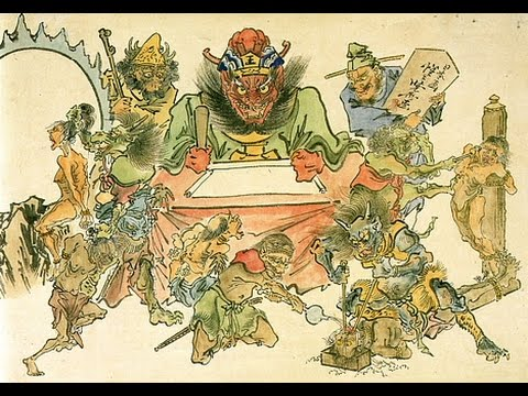 Kawanabe Kyōsai: Sketches of Hell