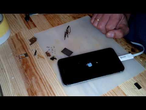 IPhone 6 восстановление после воды