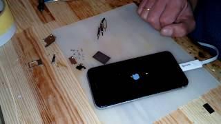 видео Ремонт iPhone 4S после воды