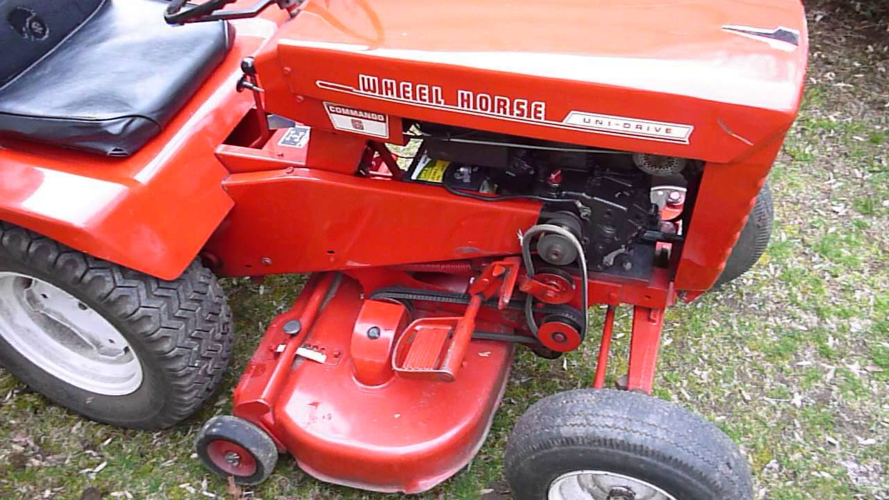 maxresdefault wheel horse commando 6 lawn tractor youtube  at creativeand.co