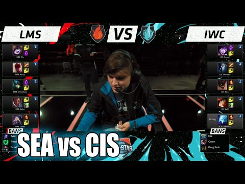 LMS vs IWC | Day 3 LoL All-Stars 2015 in Los Angeles | SEA vs CIS Allstar