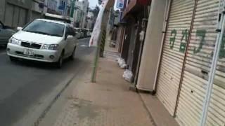 「石巻の朝」2011.9.29~オニギリを買いに。IMG 0328