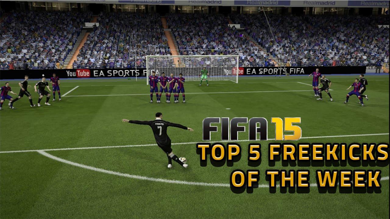 Top 5 Freekicks