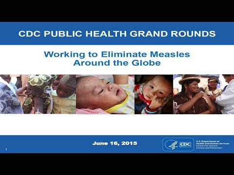 Working to Eliminate Measles Around the Globe