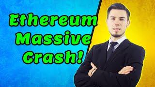 Ethereum Massive Crash! - Price Analysis News