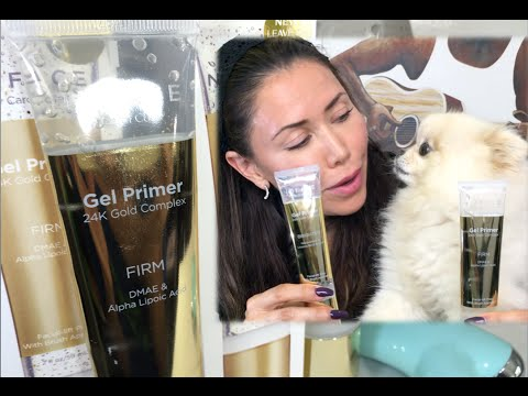 nuface-gel-primer-24k-gold-complex---review-&-how-to