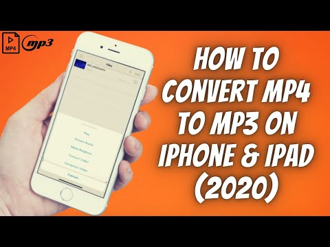 How To Convert MP4 to MP3 On iPhone & iPad (2020) ✅  Convert Any Video File To MP3 Audio On iOS! ✅