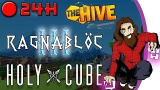 [24H LIVE] Minecraft - Ragnablöc III / TheHive / Holycube III - [4/4]