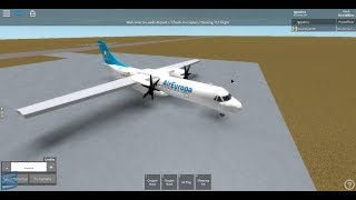 ROBLOX || Air Europa Ltd. || ATR 72 Tour ||