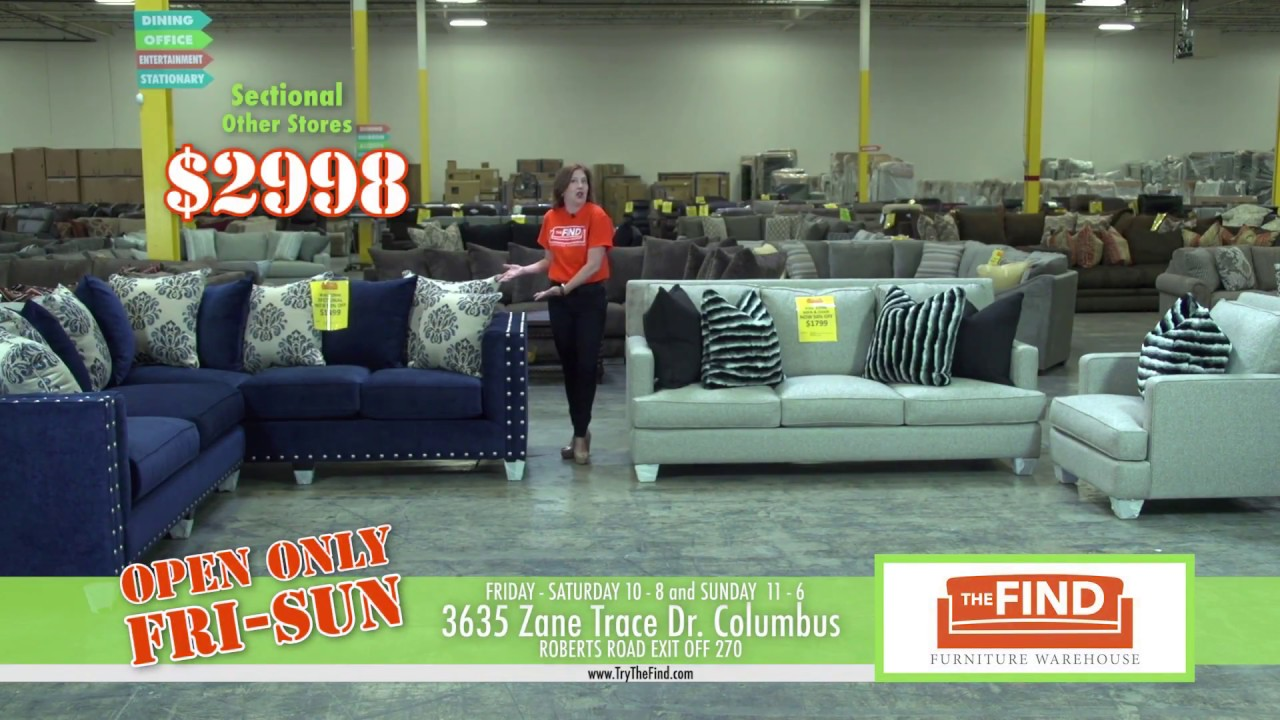 Thefind Furniture Warehouse Columbus Ohio Sofas Youtube