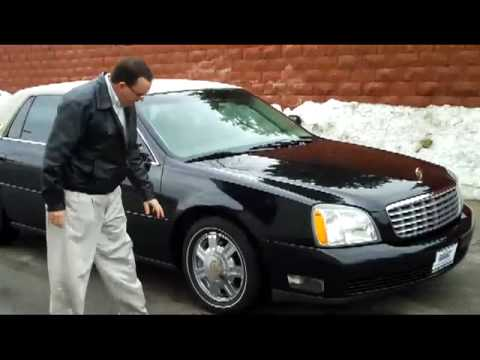 2003 Cadillac Deville DTS for sale at Honda Cars of Bellevue ...