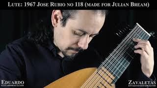 1967 Jose Rubio Lute No 118, Ex-Bream.