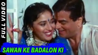 Sawan Ke Badalon Ki | Mohammed Aziz,Alka Yagnik| Paappi Devataa 1994 Songs | Jeetendra,Madhuri Dixit