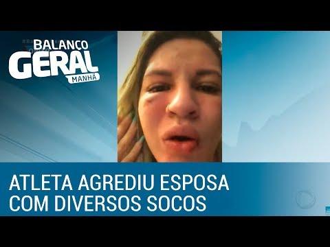 Esposa de goleiro Jean, do São Paulo, acusa jogador de agressão
