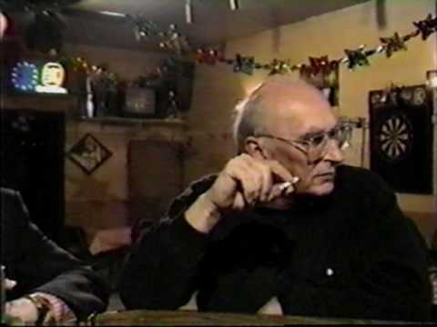 Studs Terkel and Mike Royko at a Chicago Bar