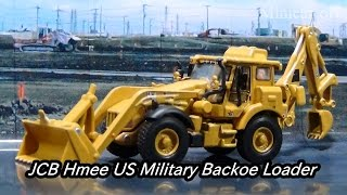 MOTOR ART 1/87 JCB HMEE US ミリタリー バックローダーの紹介動画です...