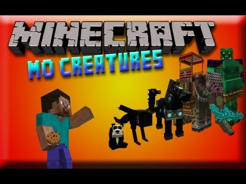 Minecraft Mod Spotlight - Mo'Creatures - how to tame the animals